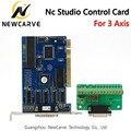 ЧПУ Ncstudio 3 оси управления Лер Breakout плата управления карты для ЧПУ маршрутизатор Ncstudio V5 5.4.49/5.5.55/5.5.60 программное обеспечение NEWCARVE