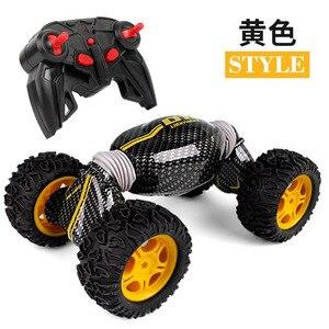 Image 5 - チッパー車モデルリモコンオフロードスタントツイスト高速車両変形トルク四輪駆動クライミング車Toy2.4g
