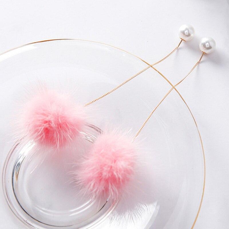 Sweet Fluffy: 2018 Sweet Cute Soft Fluffy Pompom Fur Ball Simulated