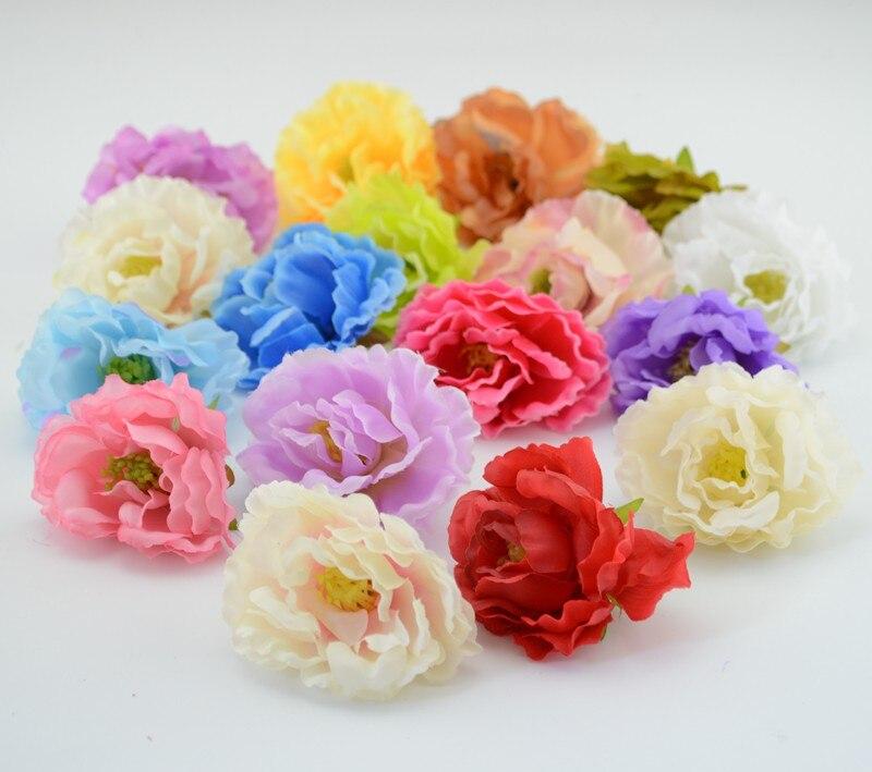 """100pcs papier tissu Pompons Fleur Bal Mariage Fête Anniversaire Décoration 6/""""//8/""""//10/"""""""