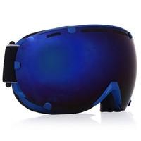 4 Colors Professional Unisex Adult Snowboard Ski Goggles Anti Fog UV Dual Lens Glass Skiing Eyewear