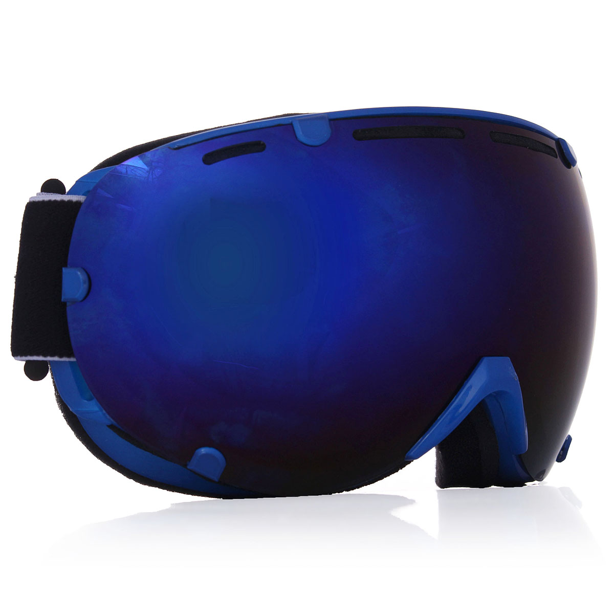 4 Colores Profesional Adulto Unisex Snowboard Gafas de Esquí UV Antivaho Gafas d