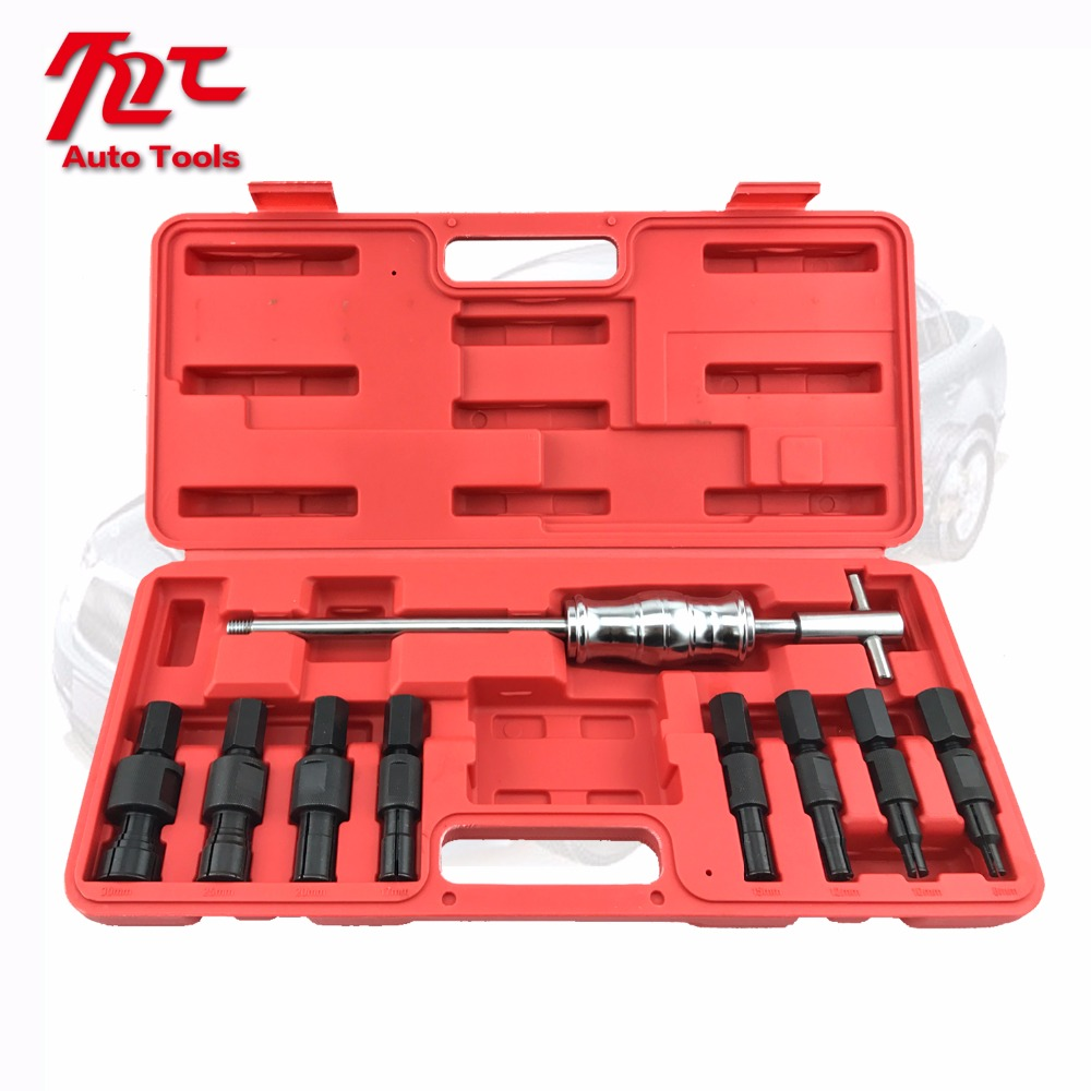 9pc bearing extractor puller set blind inner bearing removal set
