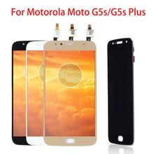 5.5 LCD Display For Motorola Moto G5S Plus IPS Touch Screen XT1802 XT1803 XT1805 XT1086 Digitizer Parts