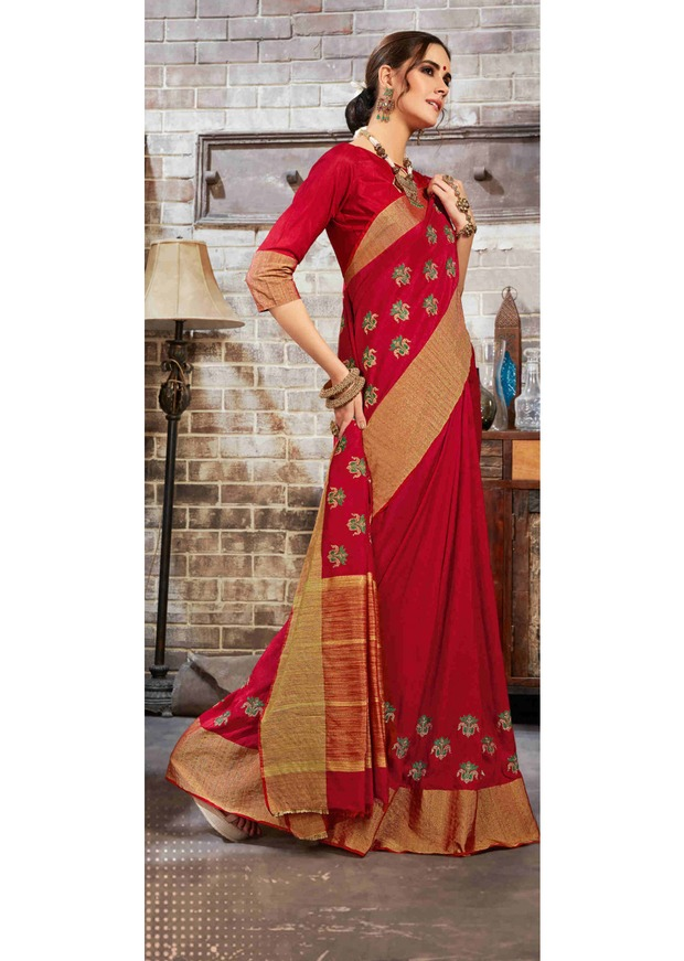 Saree indien sur mesure Georgette noire inde Sari robe filles femmes indien traditionnel Sarees - 2