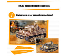 Camouflage Pattern Remote Control Tank Model Shooting Bullets Simulation Sound RC Panzer Toy Best Gift Show Love to Your Kids