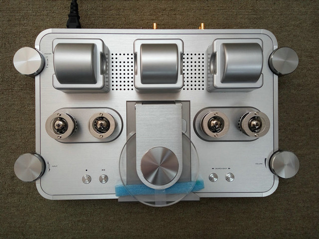 R-056 Shanling CD-T2000 CD-T100MKII Vacuum Tube CD Player HI-END PCM1792 24bit/192KHz DAC Coaxial USB input XLR output