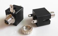 10PCS  3.5mm Female Audio Connector 3 Pin DIP Headphone Jack Socket PJ-301M