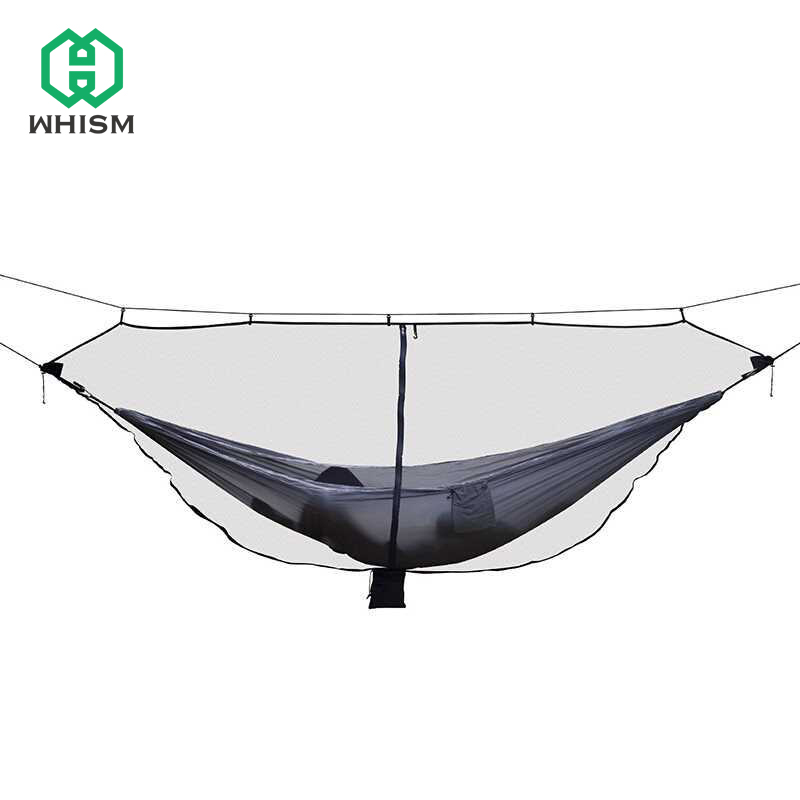WHISM Nylon Hammock Bug Net Hanging Bed Net Garden Swing Hammock Netting Camping Mosquitera Mesh Portable Hammock Mosquito Net мидж москитная насекомых hat bug mesh head net face protector путешествия отдых бесплатная доставка