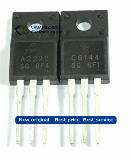 Free Shipping 100pcs/lot 2SA2222 2SC6144 50pcs A2222 + 50pcs C6144 IC Best Quality.