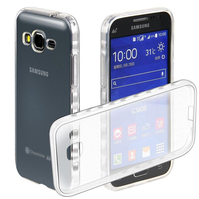 Coque новый протектор ТПУ задняя крышка + Мягкий силиконовый чехол для Samsung Galaxy Core Prime G360 g360h sm-g360h <font><b>g361f</b></font> случае телефон Капа