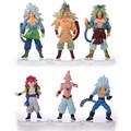 6 pcs figurines dragon ball z super saiyan goku son 2016 New  figurine dragon ball z  AF3 generation  action figuries  toys