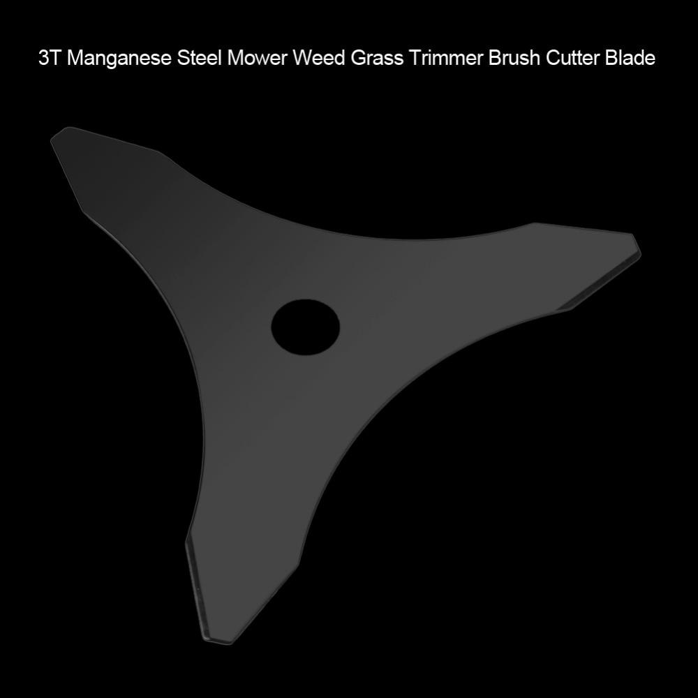 3T косилка травы 1 дюйм марганца стальной триммер кусторез лезвие садовый машины для синтетического волокна сад Мощность инструмент Запчасти