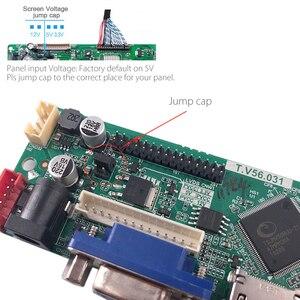 Image 4 - Destek rusça yükseltilmiş V56.031 evrensel LCD TV denetleyici sürücü panosu TV/PC/VGA/HDMI/USB USB oyun medya v56 çip freegift