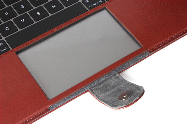 PU leather Notebook Case for MacBook 3