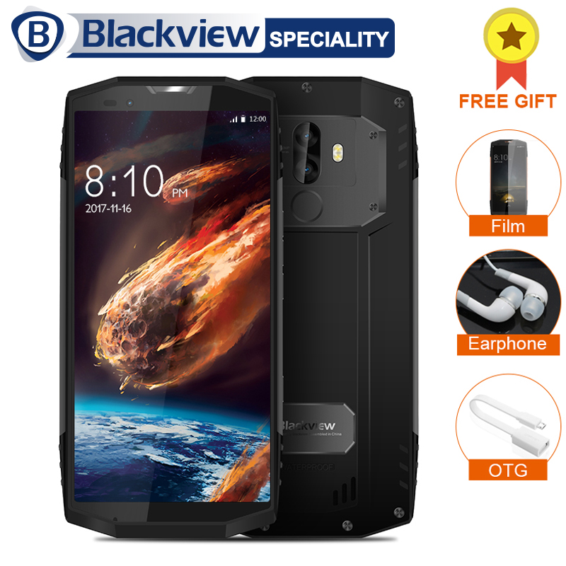 Blackview BV9000 Pro Smartphone 5.7 18:9 FHD + Plein Écran 6 gb + 128 gb Helio P25 Octa Core 4180 mah IP68 Étanche NFC Téléphone portable