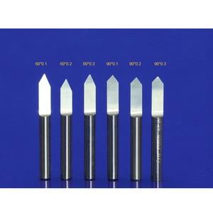 Image 4 - 10Pcs 3.175mm Tungsten Cutter V Shape Carbide PCB Engraving Bits CNC Router Tool Choose Size J3.3001 Acrylic Carving Frezer