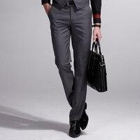 custom made Men 's Slim Pants Professional Dress Pants wool Pants Men' s Business Casual Straight Pants Spring and Autumn