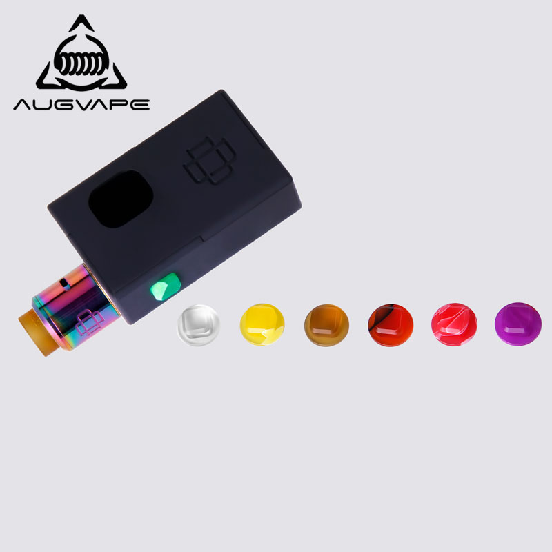 Augvape Druga Squonker Box 22mm Druga RDA Single Coil Splendid Flavor Original Electronic Cigarette Kit Buttom E-cigarettes