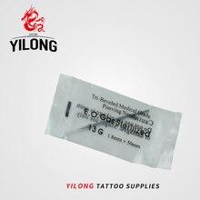 Fashion Unique Sterilized Tattoo Piercing Catheter Sterilized Needles Tool Body Piercing 13 G With Box Cheap 100PCS