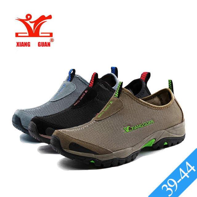 Xiang Guan Men Aque Shoes Outdoor Water Breathable Footwear Mesh Beach Walking Sneakers Male Sports