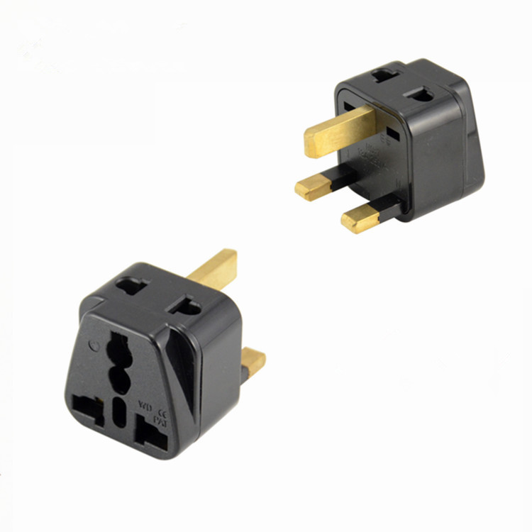 10pcs Lot 1to2 Singapore Uk Plug Socket Travel Wall Ac Power Charger Outlet Adapter Converter