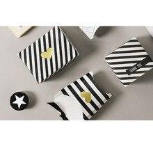 1200 teile/los Kawaii Kleine Goldene Herz HAND MADE dekorative kraft Dicht aufkleber DIY geschenk paket label papier aufkleber Großhandel