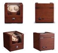Заводчик для часов деревянной кожей Кисти для макияжа анти магнитного тихий мотор обслуживания для европейский бренд корпуса часов Поверн
