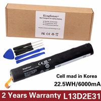 Korea Cell KingSener L13D2E31 Tablet Battery For Lenovo Yoga Tablet 8 B6000 B6000 H B6000 F
