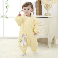 New Style Blanket Sleepers Coral Fleece Newborn One Piece Boys Rompers Baby Girls Formal Clothes Toddler