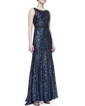 vestido de festa longo Formal gown free shipping robe soiree 2014 new style hot sexy casamento paillette long evening Dresses