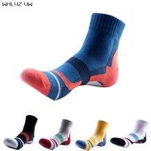 10pieces=5pairs=1lot brand socks men 100 cotton breathable compression pants socks colorful Standard Short meias Fit EU39-45