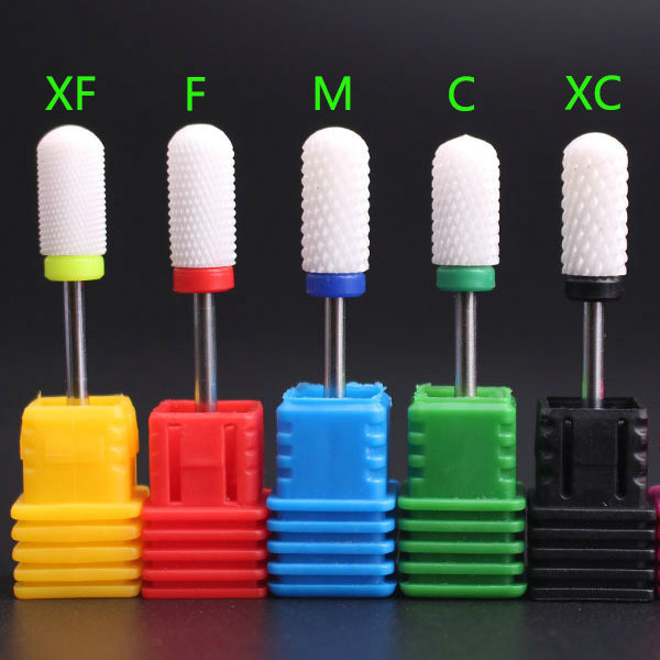 Milling Cutter For Manicure Ceramic Nail Drill Bits Manicure Machine Accessories Rotary Electric Nail Files  Nail Art Tools