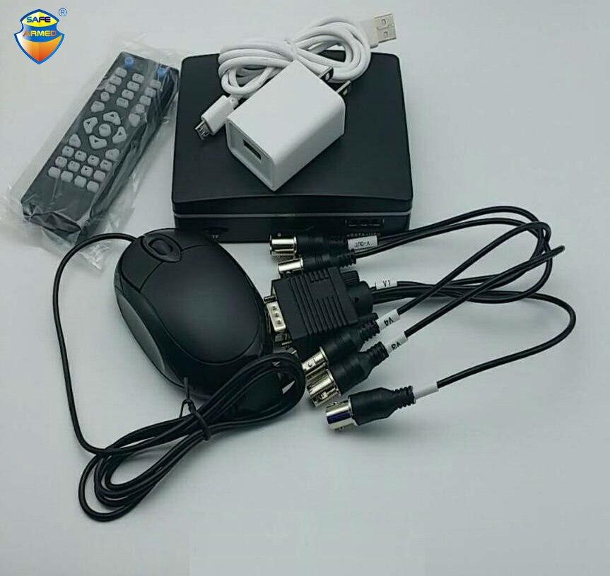 4 Ch Mini CCTV AHD DVR 1080N hybride DVR NVR 5in1 enregistreur vidéo Mini XVR pour 1080 P AHD caméra Support TF fente pour carte livraison gratuite