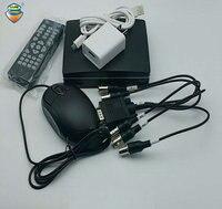 4 Ch Mini CCTV AHD DVR 1080N Hybrid DVR NVR 5in1 Video Recorder Mini XVR For 1080P AHD Camera Support TF Card Slot Free Shipping
