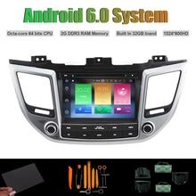 Android 6.0 Octa-core DVD PLAYER DO CARRO para HYUNDAI iX35 TUCSON 2015-2016 Car Radio RDS WIFI 2G RAM 32 GB Inand Flash (sem Canbus)