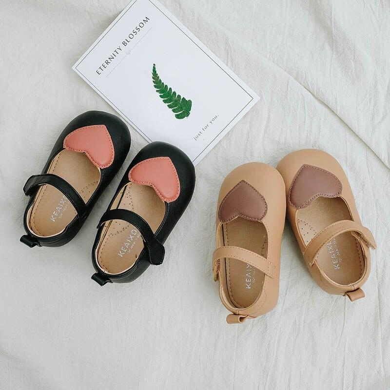 Mutter & Kinder Lanshitina Baby Pu Leder Schuhe Frühling Herbst Baby Retro Kleinkind Mädchen Schuhe Infant Herz Schuhe 0-1years Tx003 Bestellungen Sind Willkommen.