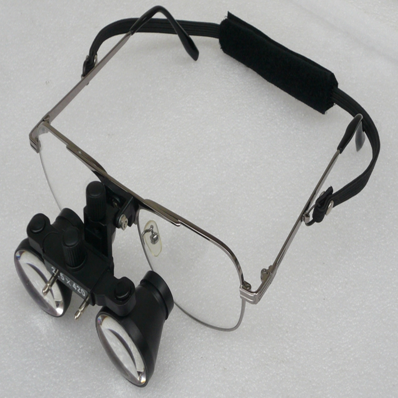 2.5X Galileo Medical Binocular Dental Loupes Wearing Style Surgical Magnifying Magnifier Glasses For Microsurgery Dentistry2.5X Galileo Medical Binocular Dental Loupes Wearing Style Surgical Magnifying Magnifier Glasses For Microsurgery Dentistry