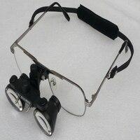 2.5x galileu lupas dentárias binoculares médicas vestindo estilo cirúrgico lupa óculos para microcirurgia odontologia