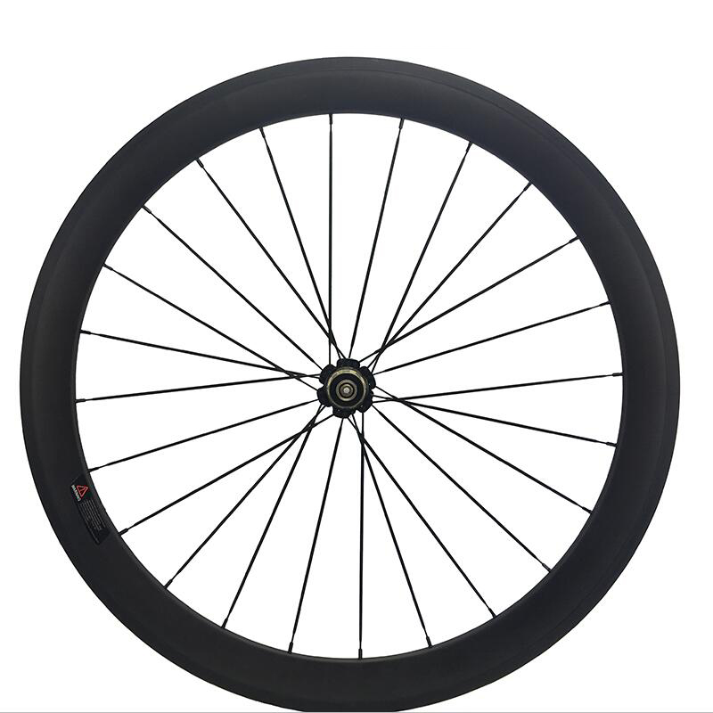 Jerry Peng Store Carbon Road Bike Wheel 50mm Deep Back Wheel Novatec Powerway Hub in 24 Holes Rear Bicycle Wheel only UD matte sema novatec dh41sb bike quick release front wheel front hub novatec 32 holes hub for bmx recumbent bicycle free shipping