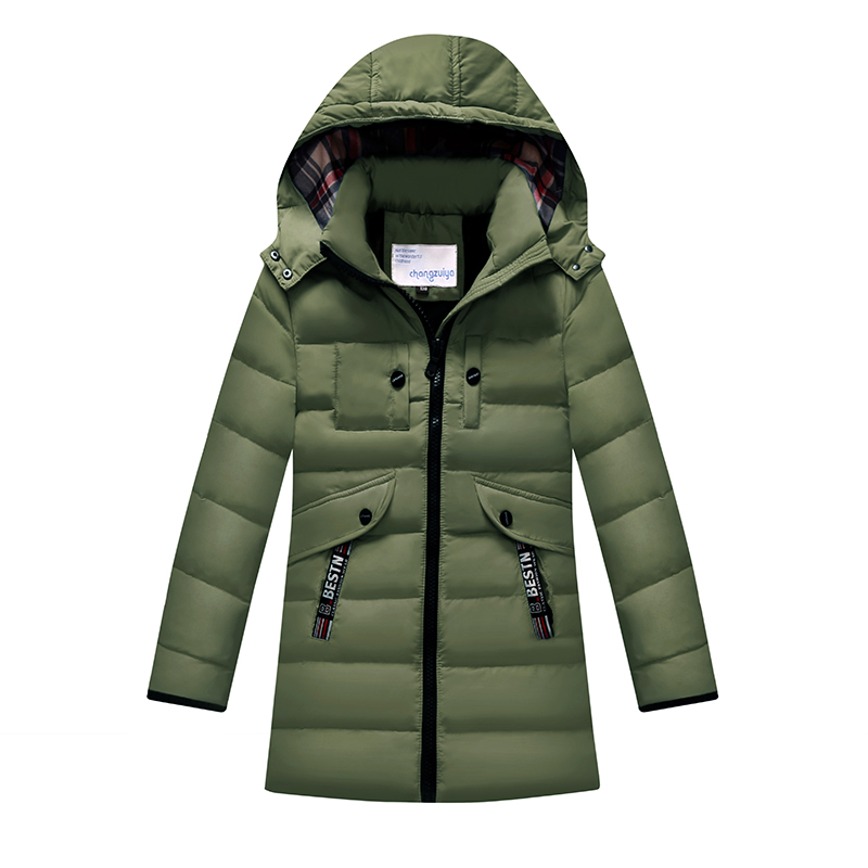 2017 winter kids thicken girls boys wadded trench coat warm children's jackets down parkas infant clothing cotton padded clothes children winter coats jacket baby boys warm outerwear thickening outdoors kids snow proof coat parkas cotton padded clothes