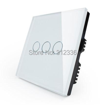 free shipping 2 gang 2 way  wall switch Glass touch switch panel popular sales  the best factory price White  Color Double way black 900 500 2 2 mm aluminum riot shield alloy combined shield explosion shield