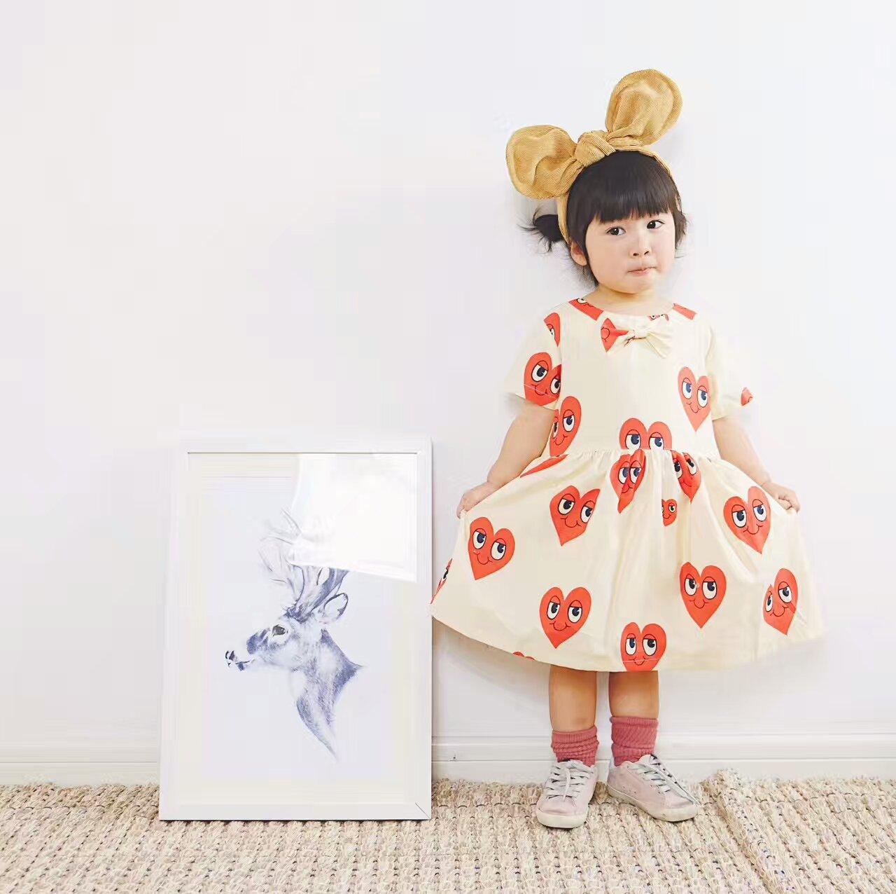 Одежда платье сердце