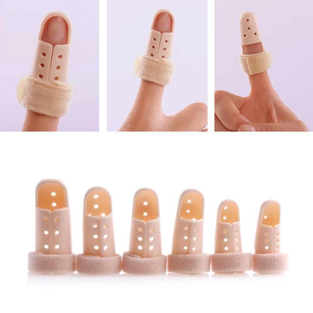 Proteção da dor da fratura da articulação da tala do mergulho do mallet da cinta plástica do apoio do dedo quente!