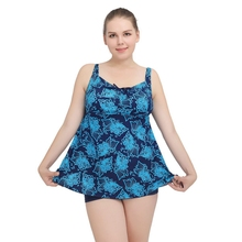 YOUDIAN 2017 One Piece Swimwear Large Size Swimwear Plus Size Swim Dress Skirt Swimsuit Swimwear Female Swimming Suit Dress