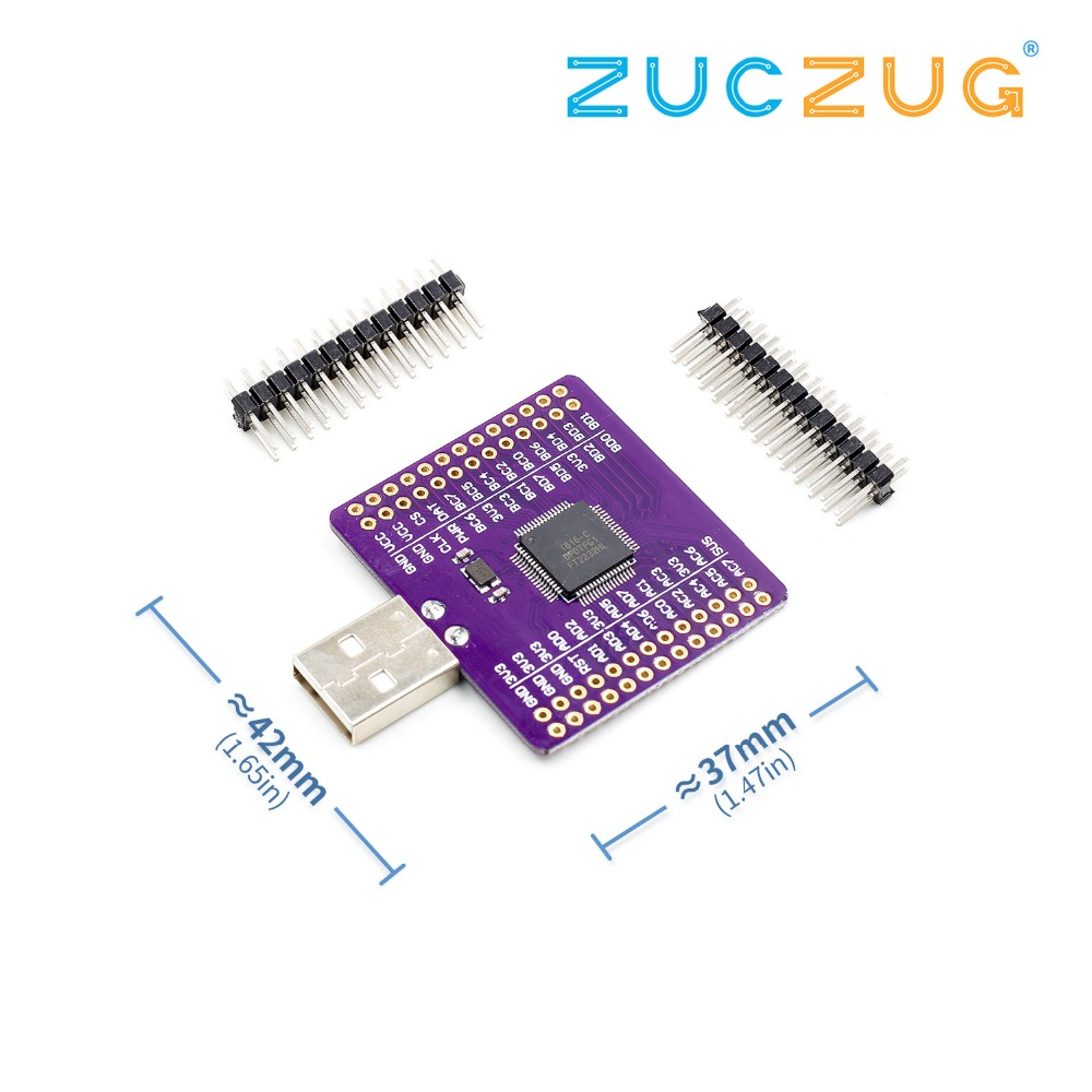 US $6 42 15% OFF|FT2232HL USB to UART FIFO SPI I2C JTAG RS232 module-in  Integrated Circuits from Electronic Components & Supplies on Aliexpress com  |