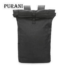 PURANI Brand Men Backpack Bag College Casual School Backpack Male School Bag Laptop Backpacks Mochila Travel Bags knapsack
