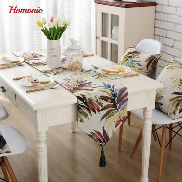European Style Wedding Table Flags Tablecloth Decorative Luxury Runner Supplies Christmas Decorations For Home