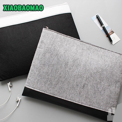 Upscale! A4 Chemical Felt File Folder Durable Briefcase Document Bag Paper File Folders Carpetas Stationery School Supplies