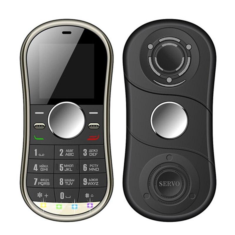 SERVO S08 Fidget Spinner Phone 1 3inch Dual SIM Card Bluetooth FM Hand Spinner cellphone with